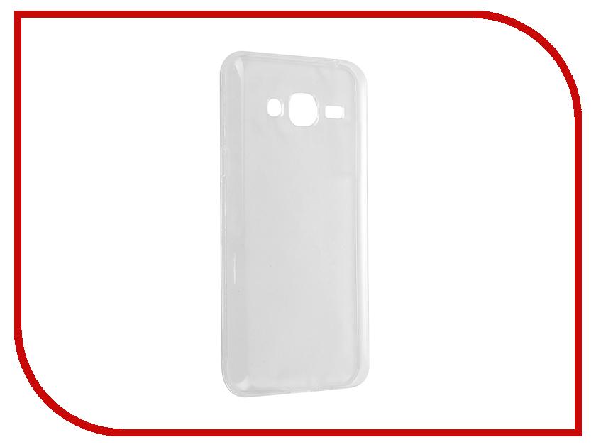 Аксессуар Чехол Samsung Galaxy J3 2016 iBox Crystal Transparent<br>