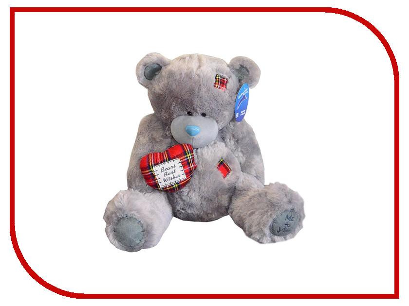 Игрушка антистресс Флиппер Мишка с сердцем Grey ФЛ620