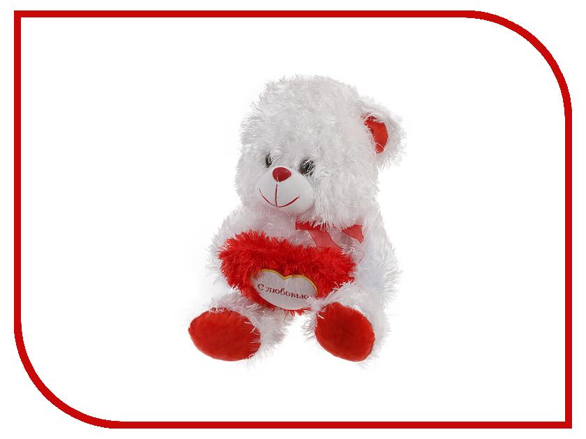 Игрушка антистресс Флиппер Медведь с сердцем ФЛ242м<br>