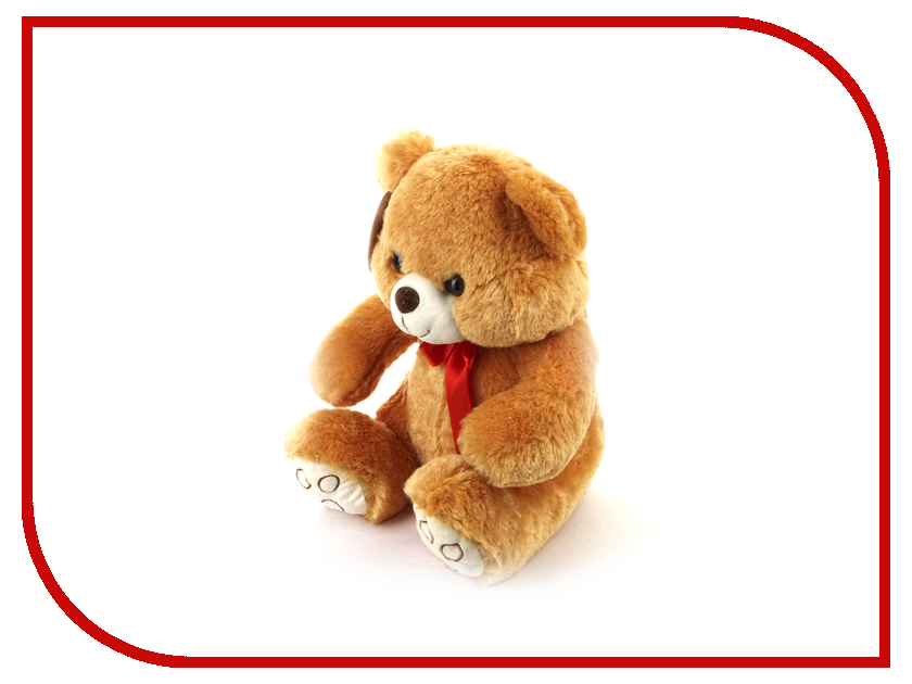 игрушка Флиппер Мишка с бантиком ФЛ229 игрушка флиппер мишка в футболке brown фл602