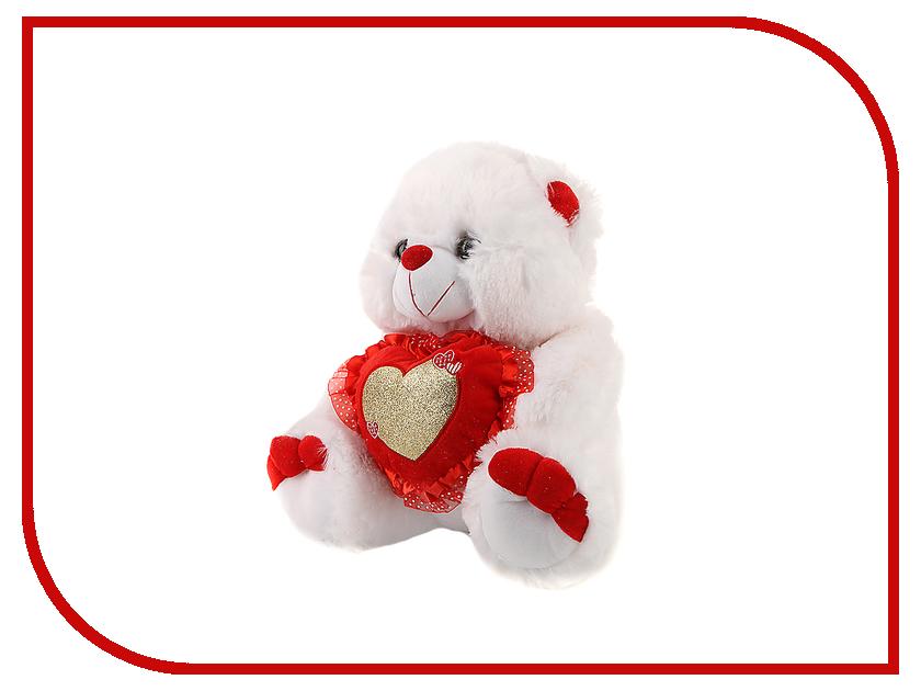 Игрушка антистресс Флиппер Мишка с сердцем ФЛ218