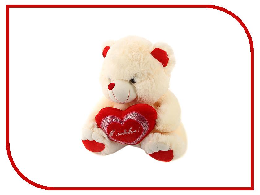 Игрушка антистресс Флиппер Мишка с сердцем ФЛ217