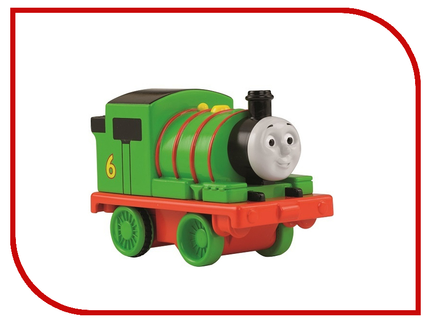 Железная дорога Fisher-Price Томас и его друзья Тяни и вращай Перси pbcx66/BCX65
