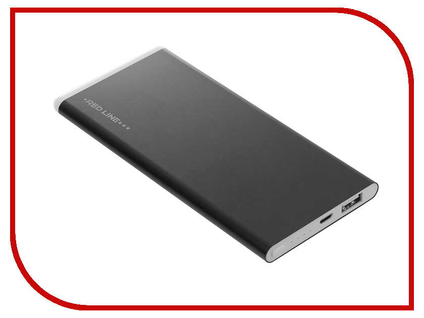 Аккумулятор Red Line H9 Power Bank 6000mAh Black аккумулятор activ fresh line a151 01 6000mah white 64031