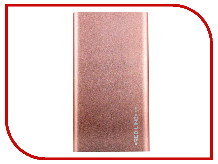 Аккумулятор Red Line J01 Power Bank 4000mAh Rose Gold УТ000009488 кружка loraine love 340 мл 25973 page 9