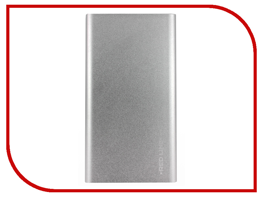 Аккумулятор Red Line J01 Power Bank 4000mAh Silver УТ000009486 аккумулятор