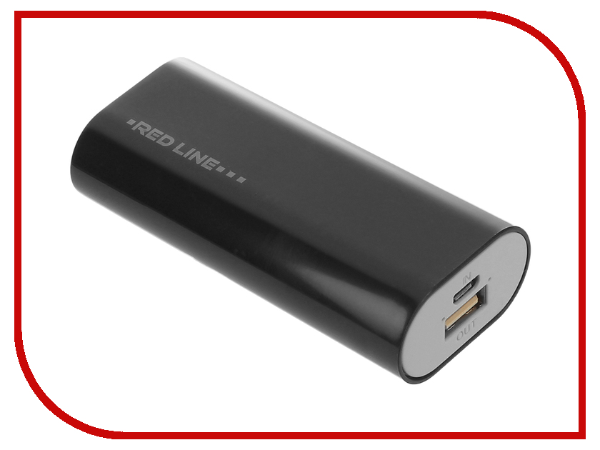 Аккумулятор Red Line S4 Power Bank 4000mAh Black