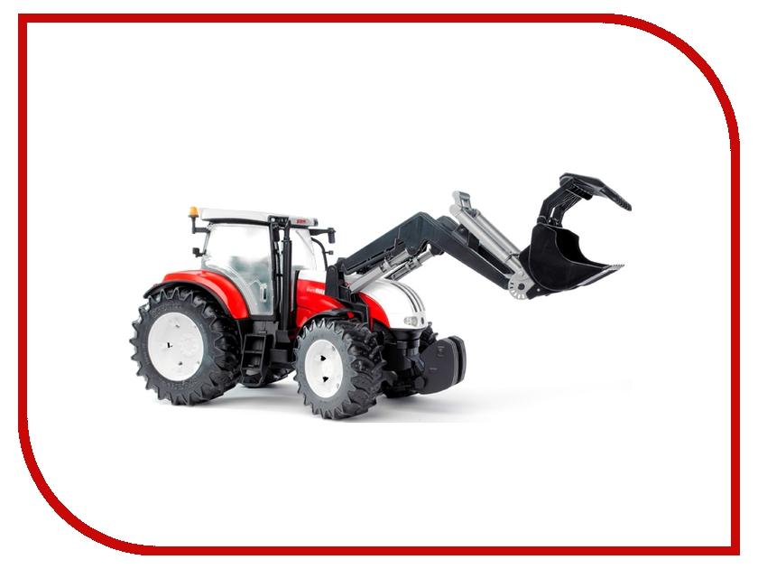 Игрушка Bruder Steyr CVT 6230 трактор с погрузчиком 03-091
