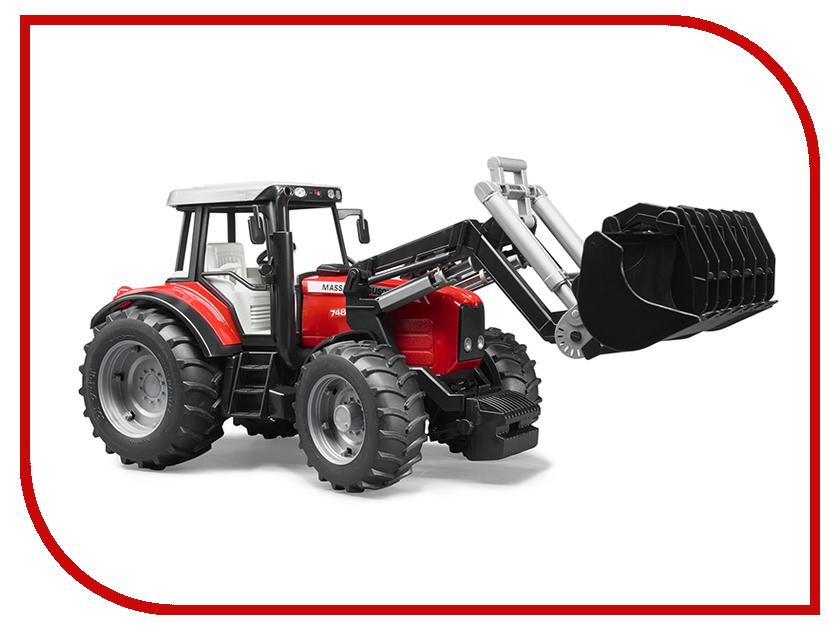 Игрушка Bruder Massey Ferguson 7480 трактор с погрузчиком 02-042<br>