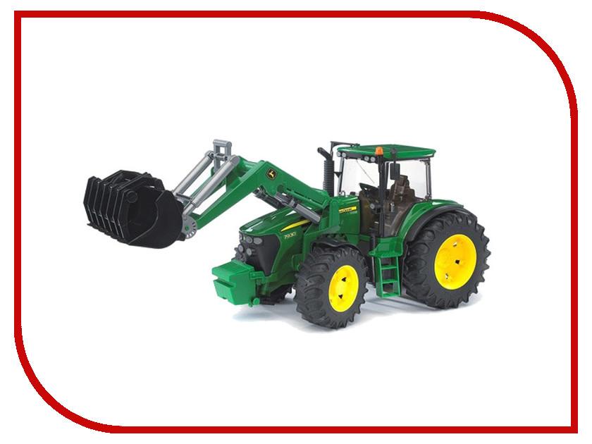 Машина Bruder John Deere 7930 трактор с погрузчиком 03-051 игрушка bruder fendt favorit 926 vario трактор с погрузчиком 02 062