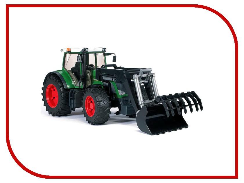 Игрушка Bruder Fendt 936 Vario трактор с погрузчиком 03-041<br>