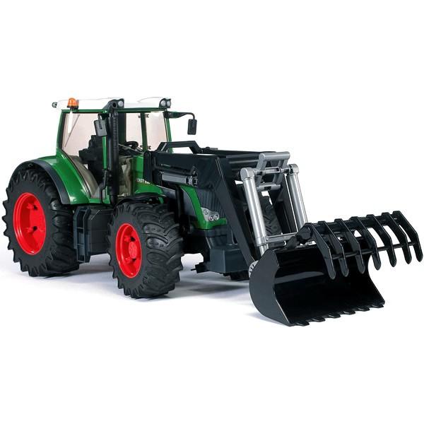 цена Игрушка Bruder Fendt 936 Vario трактор с погрузчиком 03-041 онлайн в 2017 году