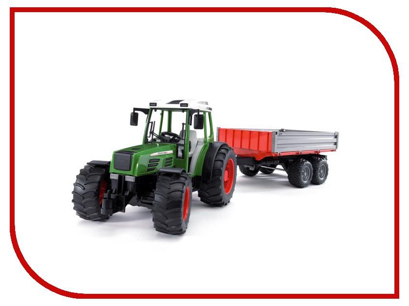 Игрушка Bruder Fendt 209 S трактор с прицепом 02-104 игрушка bruder john deere 1210e трактор с прицепом манипулятором и брёвнами 02 133