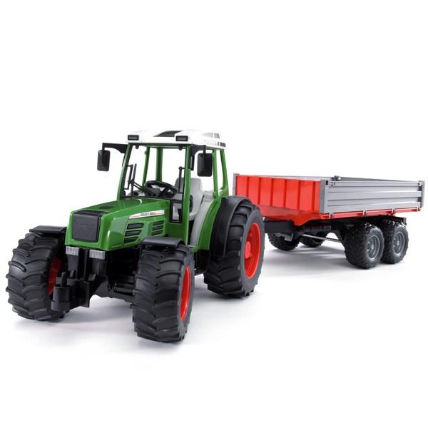 Игрушка Bruder Fendt 209 S трактор с прицепом 02-104 smoby 710108 трактор педальный xl с прицепом красный