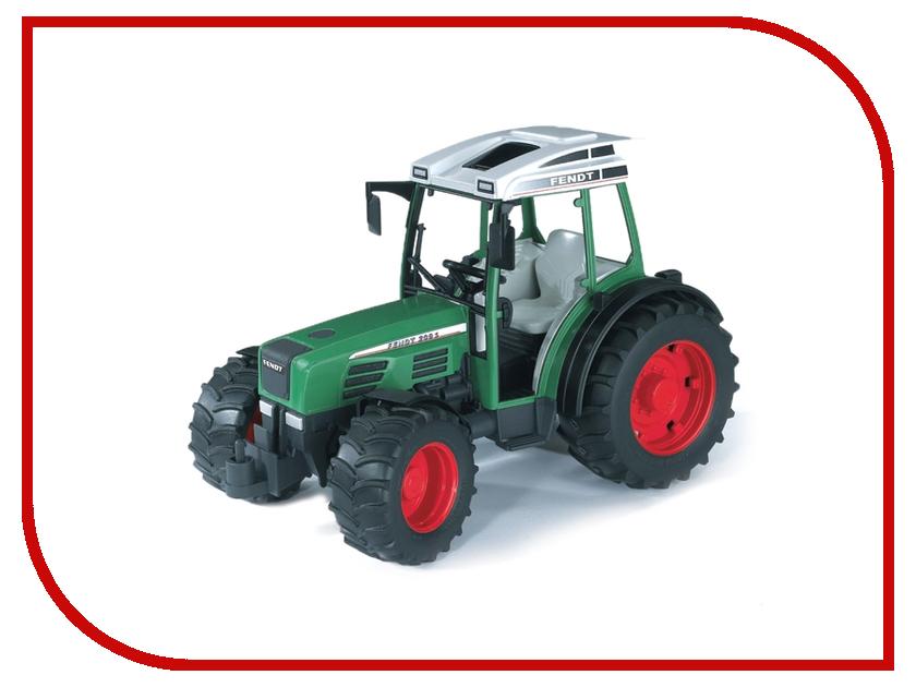 Игрушка Bruder Fendt 209 S трактор 02-100 трактор с прицепом dickie fendt 41 см