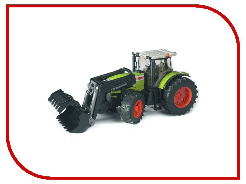 Игрушка Bruder Claas Atles 936 RZ трактор c погрузчиком 03-011<br>