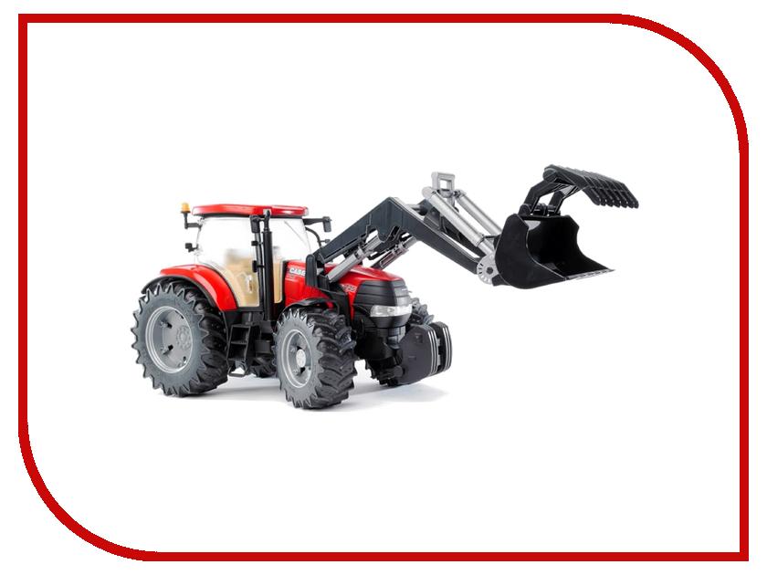 Машина Bruder Case CVX 230 трактор с погрузчиком 03-096 bruder грейдер cat bruder