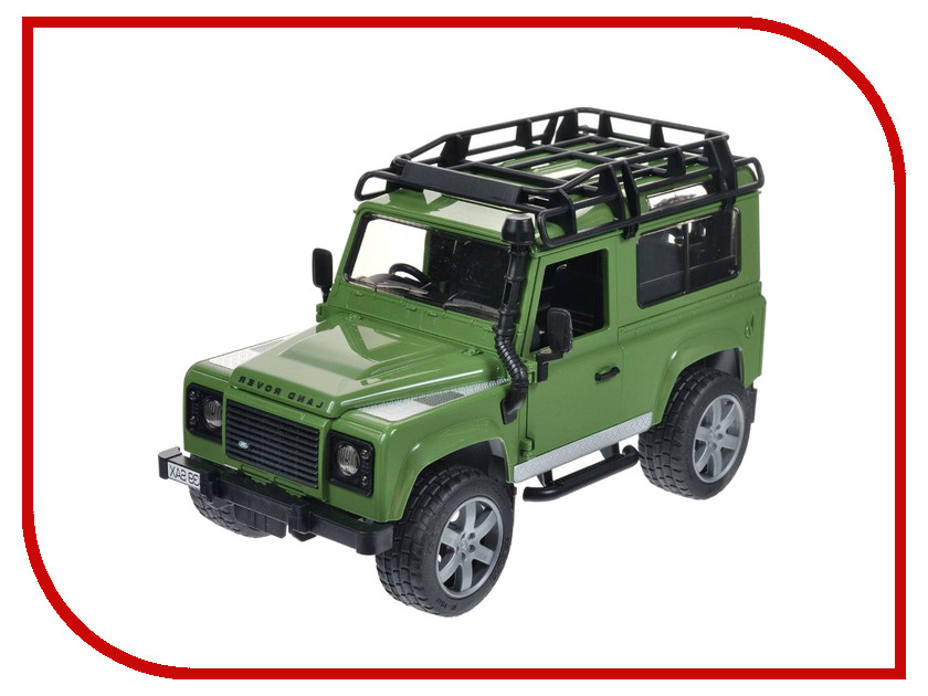 Игрушка Bruder Land Rover Defender внедорожник 02-590 футболка wearcraft premium slim fit printio пони dubstep