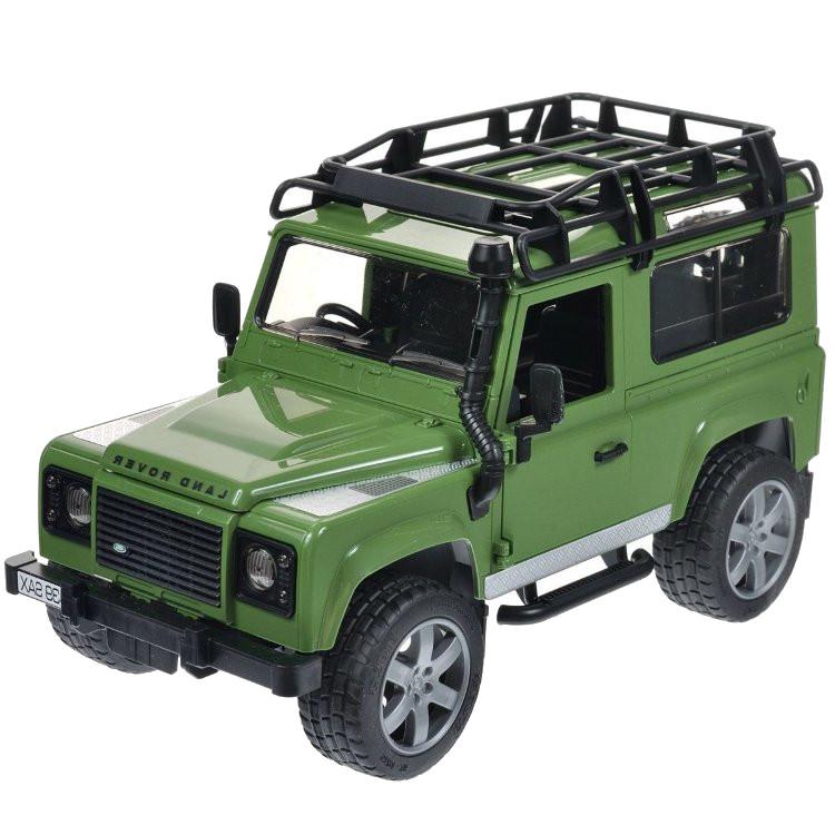 Игрушка Bruder Land Rover Defender внедорожник 02-590 цена