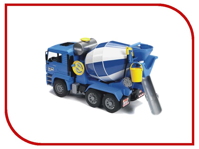 Игрушка Bruder MAN бетономешалка Blue-Grey 02-744 бетономешалка sturm cm20180r