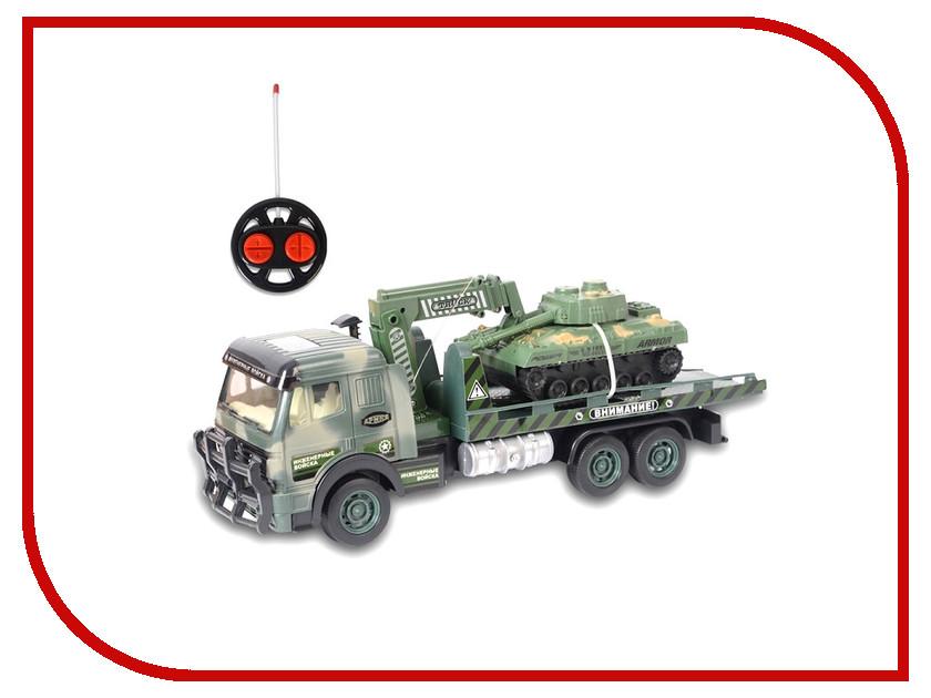 Радиоуправляемая игрушка Zhorya Грузовик Военный ZY366138