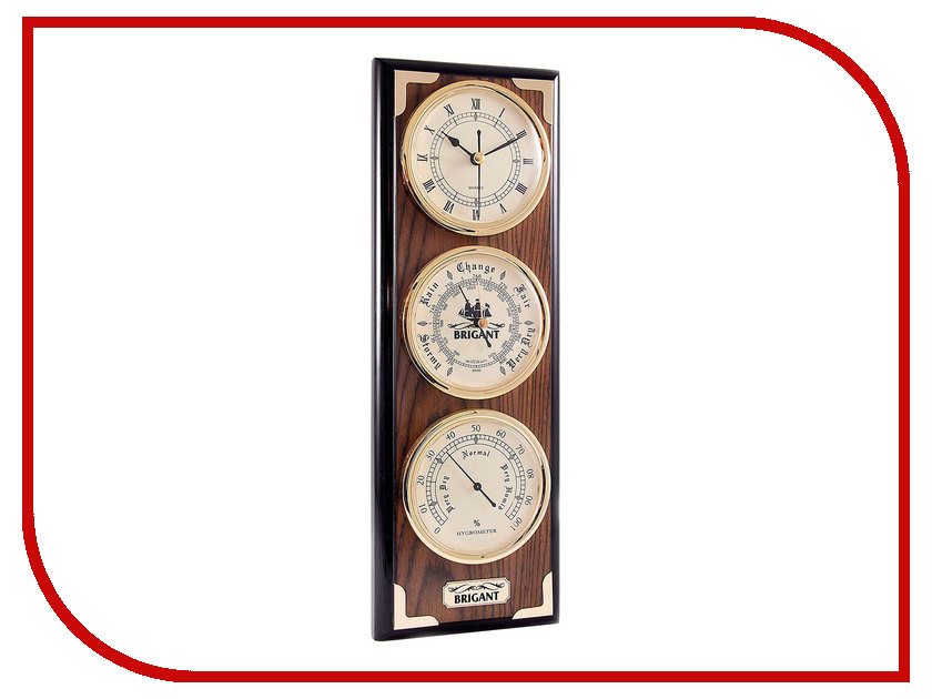 Часы настенные Brigant 28141 Light Walnut<br>