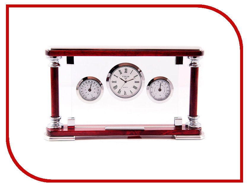 Часы VIRON 28251 настольный набор viron 23х13х5см 28251