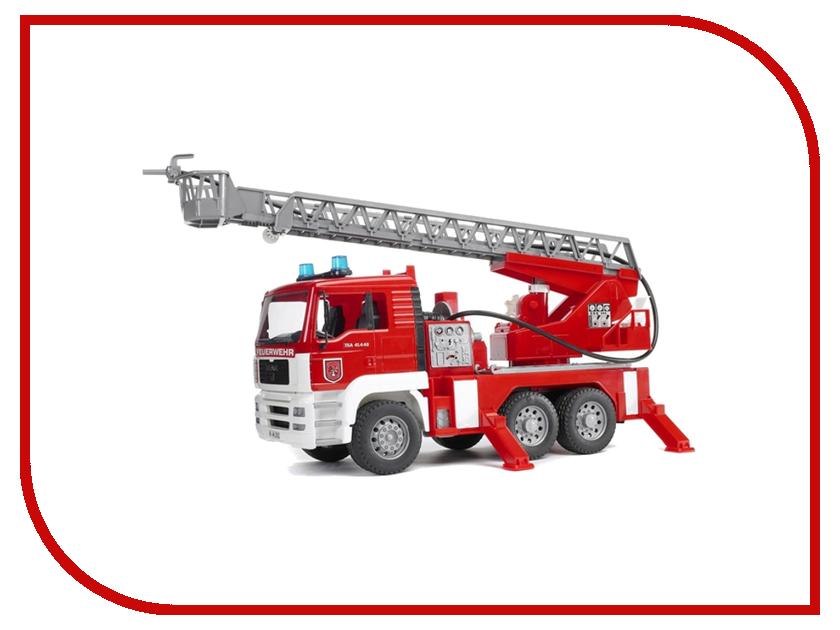 Машина Bruder MAN пожарная машина 02-771 bruder пожарная машина scania с 3 лет