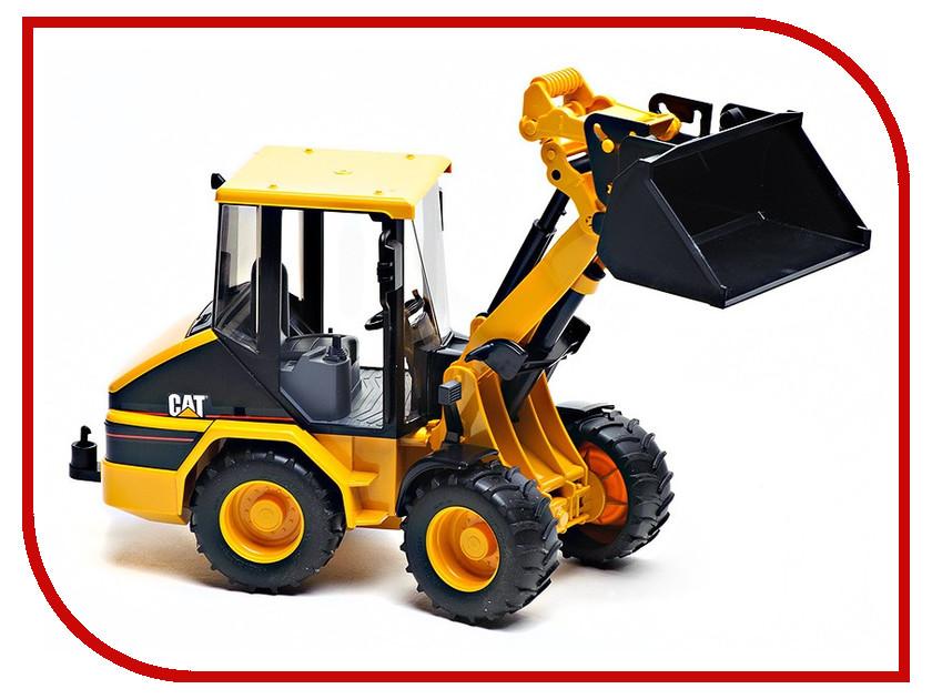 Игрушка Bruder CAT погрузчик колёсный с ковшом 02-441 машина bruder jlg 2505 telehandler погрузчик колёсный с телескопическим ковшом 02 140