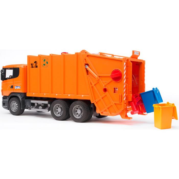 Игрушка Bruder Scania мусоровоз Orange 03-560