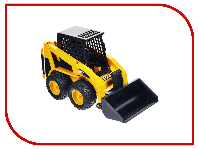Машина Bruder CAT мини Погрузчик колёсный с ковшом 02-431 bruder грейдер cat bruder