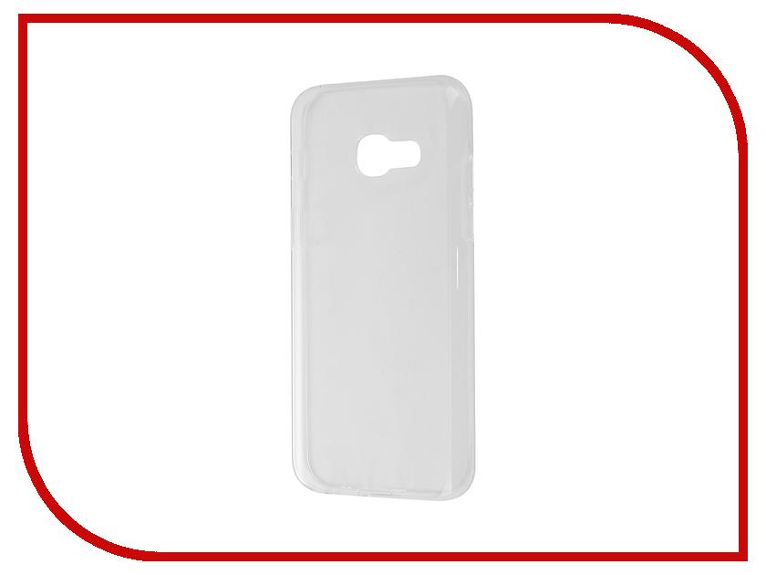 Аксессуар Чехол Samsung Galaxy A3 A320F 2017 Gecko Transparent-Glossy White S-G-SGA3-2017-WH аксессуар чехол samsung galaxy j5 prime g570 gecko white s g sgj5pr wh