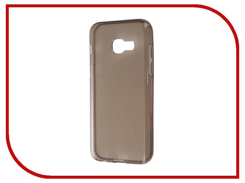 Аксессуар Чехол Samsung Galaxy A3 A320F 2017 Gecko Transparent-Glossy Gray S-G-SGA3-2017-GRAY