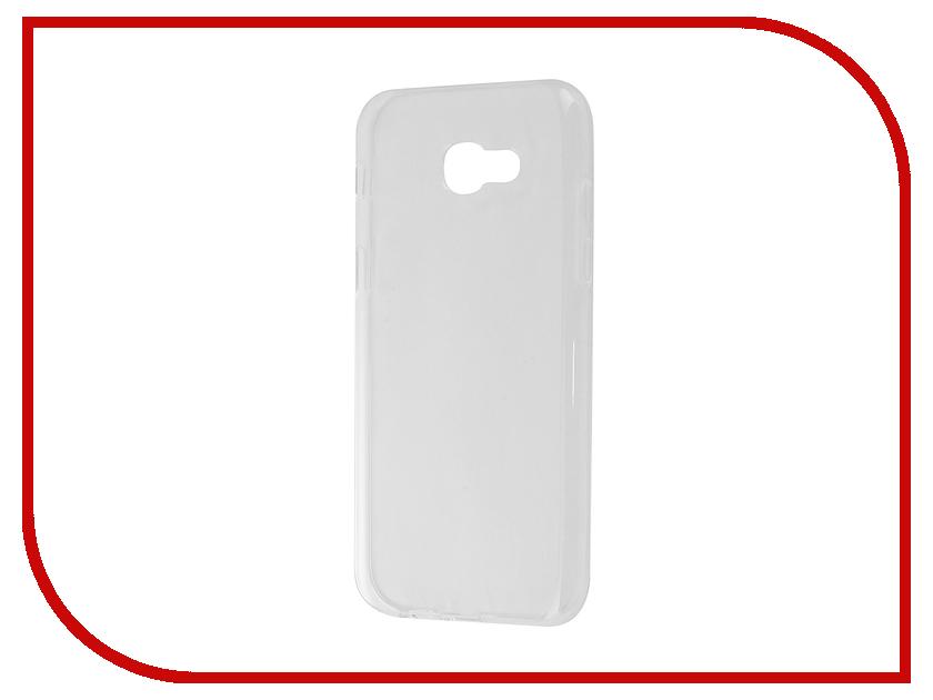 Аксессуар Чехол Samsung Galaxy A5 A520F 2017 Gecko Transparent-Glossy White S-G-SGA5-2017-WH аксессуар чехол samsung galaxy j5 prime g570 gecko white s g sgj5pr wh