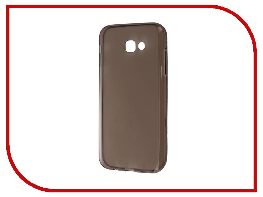 Аксессуар Чехол Samsung Galaxy A7 A720F 2017 Gecko Transparent-Glossy Gray S-G-SGA7-2017-GRAY<br>