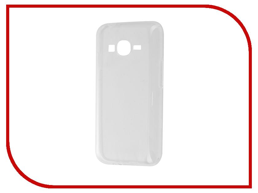 Аксессуар Чехол Samsung Galaxy J1 mini Prime J106F 2017 Gecko Transparent-Glossy White S-G-SG-J1MINIPR-2017WH<br>