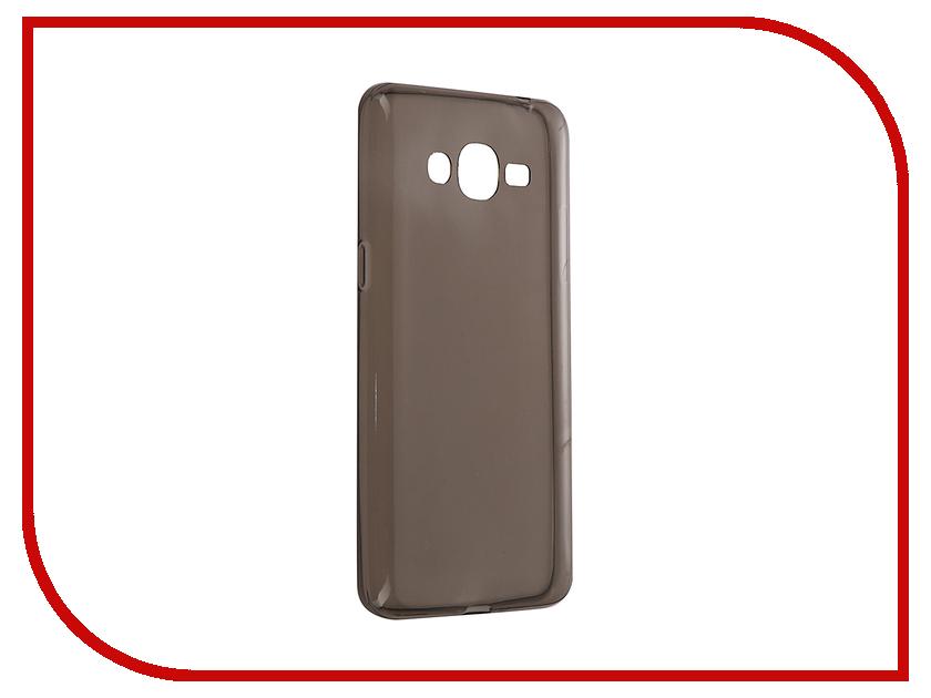 Аксессуар Чехол для Samsung Galaxy J2 Prime G532 Gecko Transparent-Glossy Black S-G-SGJ2PR-BL чехол deppa art case и защитная пленка для sony xperia z3 compact танки разведчик