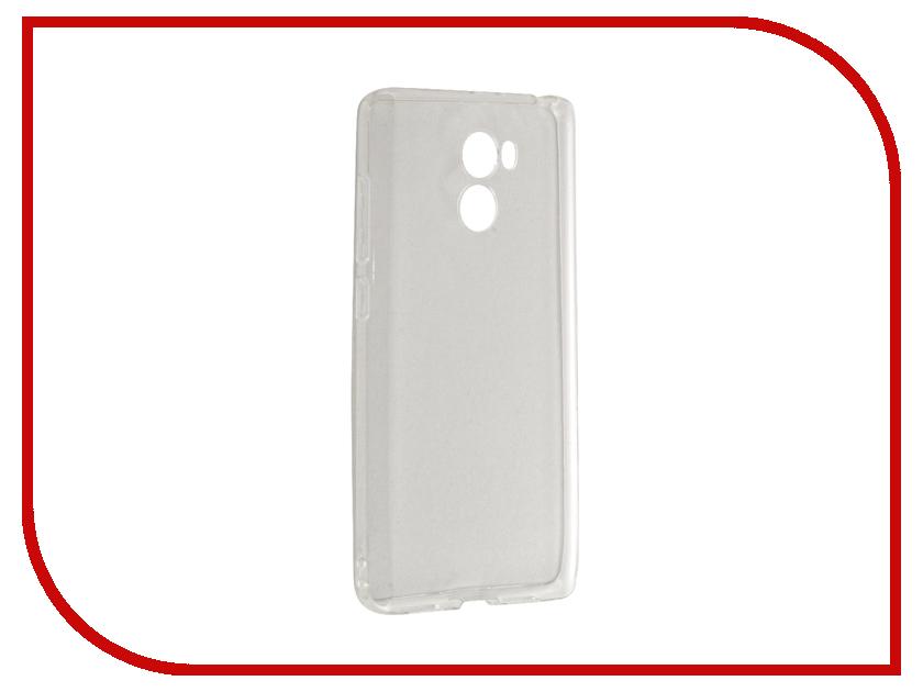 Аксессуар Чехол Xiaomi Redmi 4 / 4 Prime Gecko Transparent-Glossy White S-G-XIR4-WH<br>