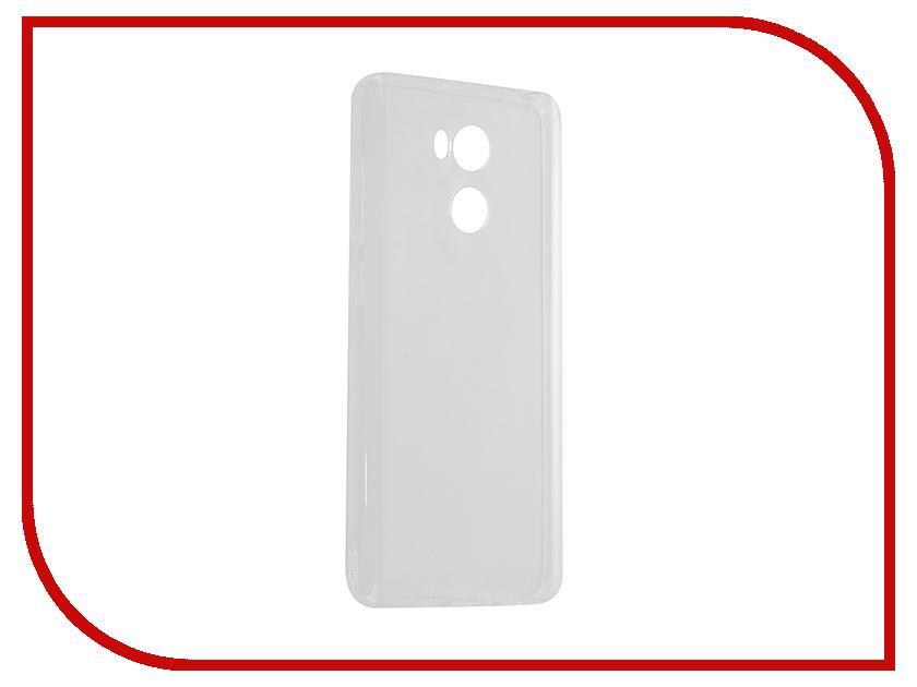 Аксессуар Чехол Xiaomi Redmi 4 Pro Gecko Transparent-Glossy White S-G-XIR4PRO-WH