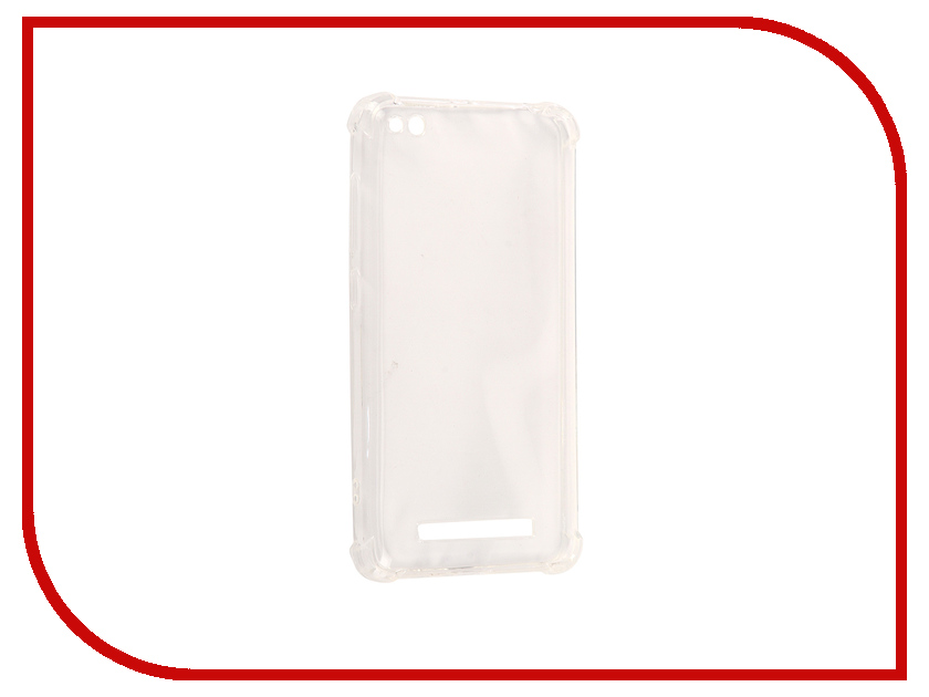 Аксессуар Чехол Xiaomi Redmi 4A Gecko Transparent-Glossy White S-G-XIR4A-WH 10 8 lcd display touch screen panel glass digitizer assembly replacement for dell venue 11 pro 7140 t07g002 frame bezel fhd