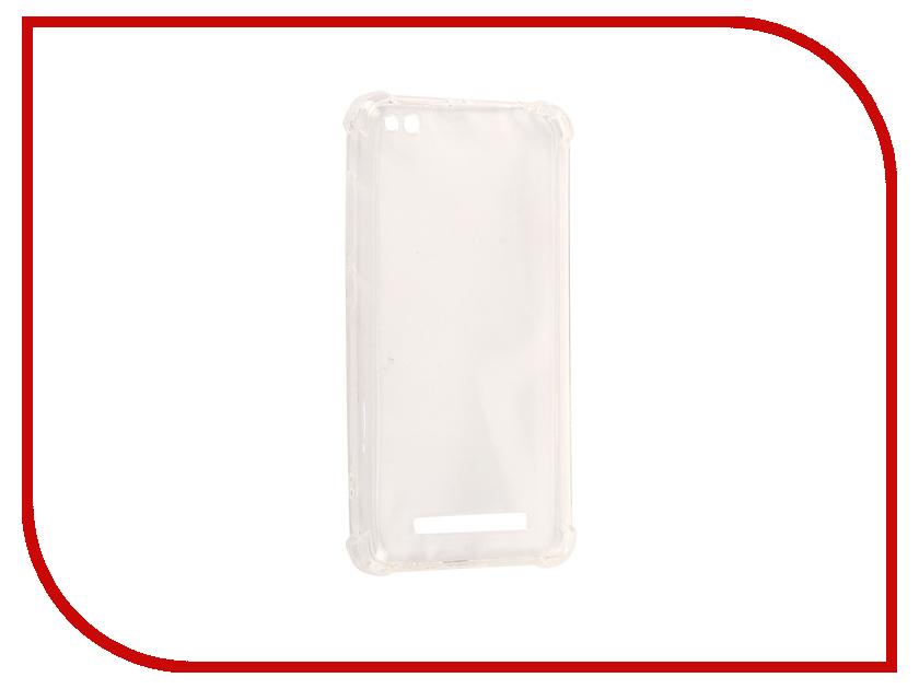 Аксессуар Чехол Xiaomi Redmi 4A Gecko Transparent-Glossy White S-G-XIR4A-WH машинка для стрижкиatlanta ath 6895