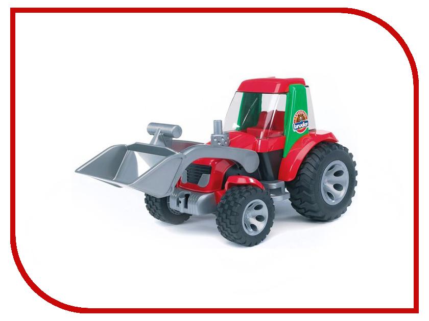 Игрушка Bruder Roadmax Трактор погрузчик 20-102 bruder трактор погрузчик roadmax