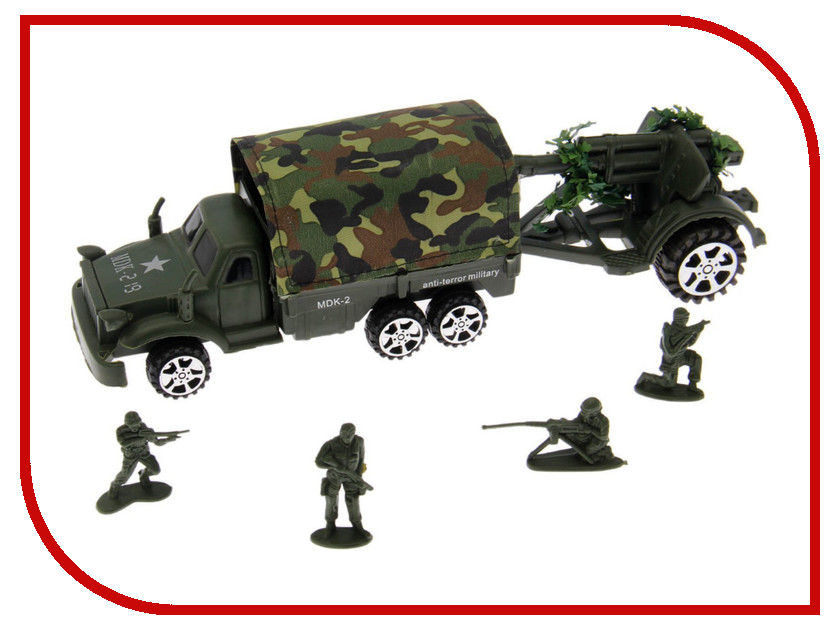 Игрушка Забияка Грузовик военный 403289<br>
