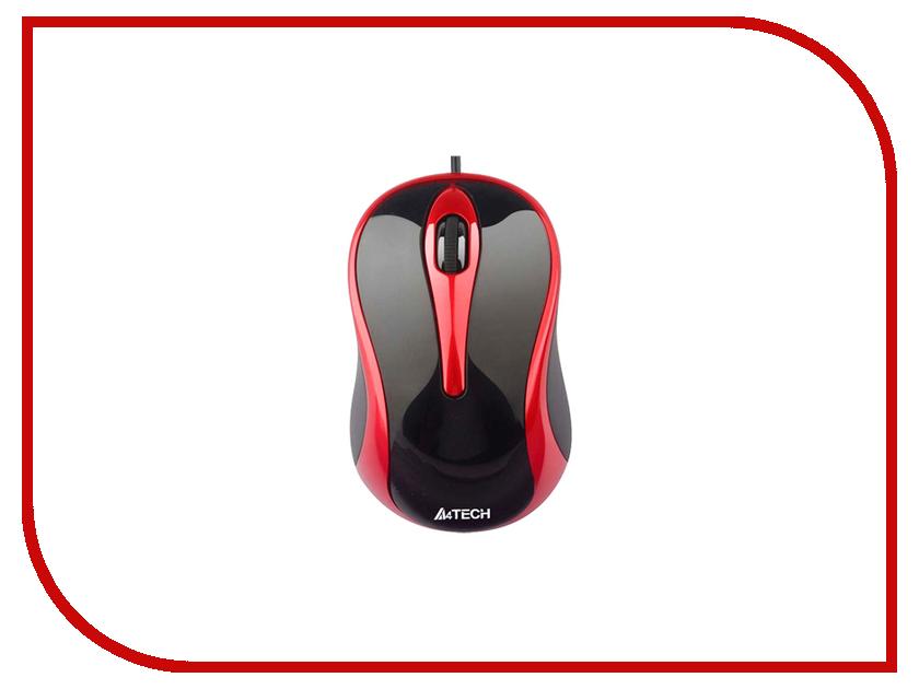 Купить Мышь A4Tech N-350-2 Black-Red USB, N-350-1