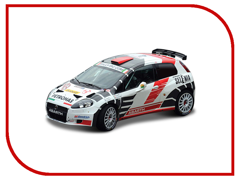 Машина Bburago Ралли Abarth Grande Punto S2000 18-38008 bburago is f 1 64