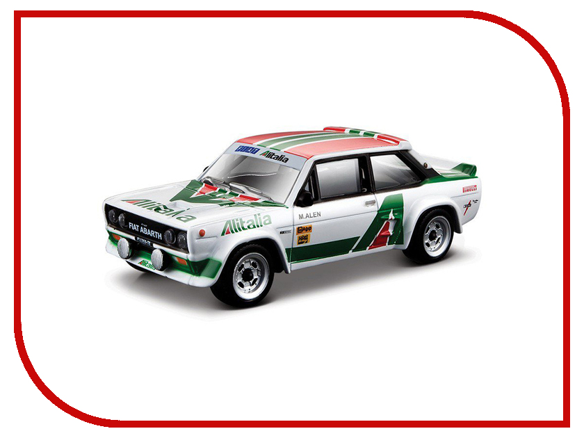 Игрушка Bburago Ралли Fiat 131 Abarth 18-38017<br>