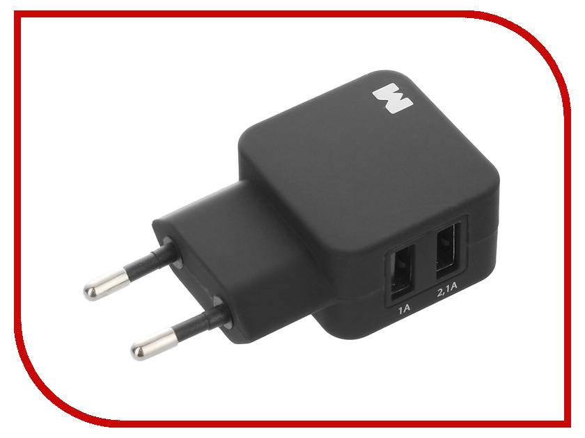 Зарядное устройство Maverick 2xUSB Soft Touch Black 1126