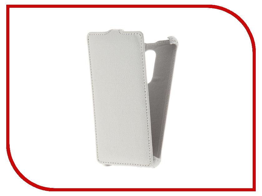 Аксессуар Чехол BQ BQS-5050 Strike Selfie Gecko White GG-F-BQ5050-WH аксессуар чехол bq bqs 5502 hammer gecko red gg f bq5502 red