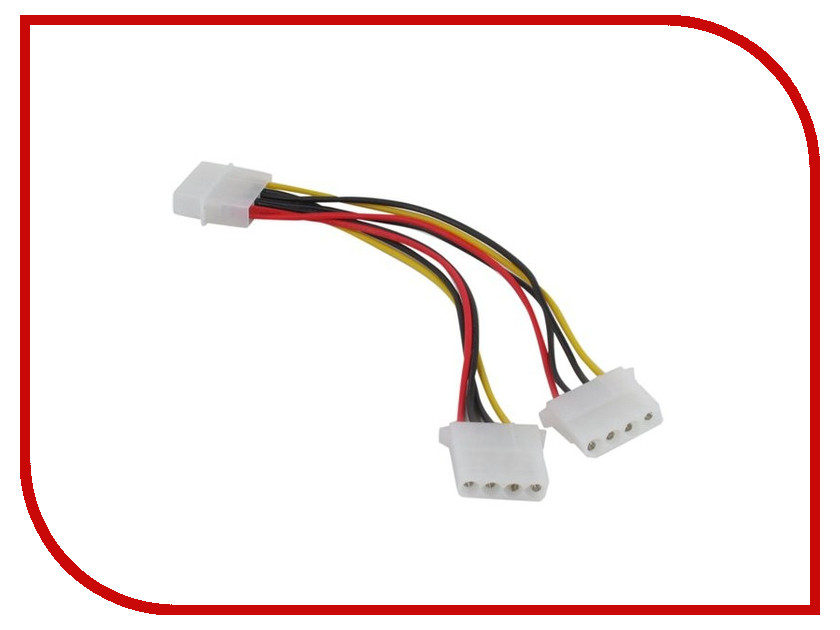 Аксессуар Кабель питания Orient C397 Molex 4pin to 2xMolex 2x4pin 29397 free shipping 5pcs in stock tda3681ath