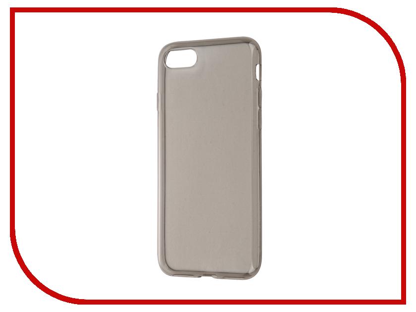 Аксессуар Чехол-накладка Gecko для APPLE iPhone 7 силиконовый Black S-G-IP7-BL
